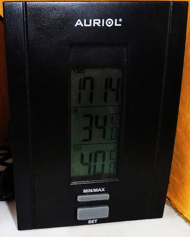 40 °C w cieniu, kto da więcej?