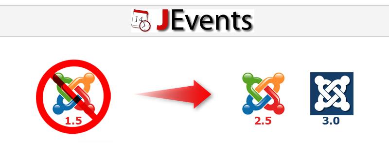 Migracja JEvents z Joomla! 1.5 na 2.5 lub 3.0 - metodą ręczną