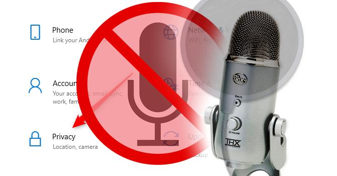 Mikrofon i kamera nie działa w Windows 10 po Update 1803 - jak naprawić
