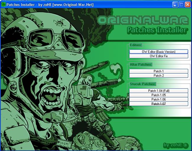 Patches Installer v 1.06!
